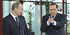 Berlusconi e Putin